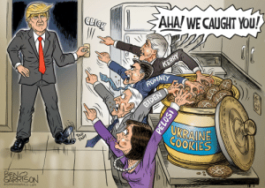 Click, Cookies, and Ukraine: CLICK  AHA/ WE CAUGHT YOU!  KERRY  ROMNEY  BIDEN  TAP  TAP!  UKRAINE  COOKIES  BENC  CARহSON  OGRRRGRAPHICS.COM  PELOS Ben Garrison just makes this too easy