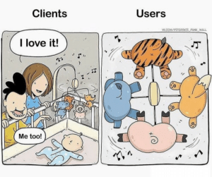 It do be like that: Clients  Users  VK.COM/PITERSKII PUNK WALL  I love it!  Me too! It do be like that