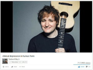 Depression, Add, and Human: clinical depression in human form  TooDamnFilthy  Subscribed 1,005,729  717,995 views  Add to  More  Share  32,838  556 https://t.co/7L6rm8XVpN