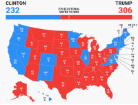 Fall, Love, and Party: CLINTON  TRUMP  232  270 ELECTORAL  VOTES TO WIN  306  ME CD 2  NH  4  WA  12  3  ME  MT  ND  MA  RI  CT  OR  MN  10  NY  29  ID  WI  10  SD  MI  16  PA  20  IA  NE  NV  OH  IN 18  NJ  14  DE  3  MD  10  DC  3  UT  CO  20 11  5 VA  13  CA  KS  6  MO  10  KY  NC  15  TN  OK  AZ  NM  AR  SC  MS AL  GA  16  TX  38  AK  FL  29  HI I see a blue state and I want it painted red. MAGA 2018 lads, welcome to the Summer of Love. Let's get ready for the Fall of the Blue and the unleashing of the GEOTUS as we send more MAGA party to Washington. No democrats, no Republicans, we MAGA now.