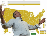 How the election will really turn out Jeb 2016!: Clinton  Trump  Jeb  Undecided  0  OR  AK  ND  MN  10  10  IN 18  20 11  nerated Map  Share Map  5 VA  DE  MD  DC  70  BWIN  Split Electoral Votes How the election will really turn out Jeb 2016!