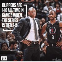 Andrew Bogut, Nba, and Clippers: CLIPPERS ARE  110 ALLTIMEIN  GAMES WHEN.  THE SERIES  ISTED2  BR  HIT NBA.COM Look away, Clippers fans.