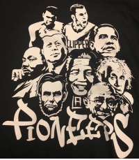 Ali, Blake Griffin, and Obama: Clippers employees wear t-shirt likening Blake Griffin to MLK, Obama, Ali and others (via @marcjspears)