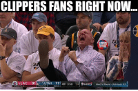 Basketball, Nba, and Sports: CLIPPERS FANSRIGHT NOW  TOPPERS  NATION  4 LAC 91  UTAH 77 4th 3:58  24 EPLAYOFFS West 1st Round -Utah leads 3-2  TIMEOUT  TIMEOUTS 4  BONUS nbamemes nba clippers nbaplayoffs