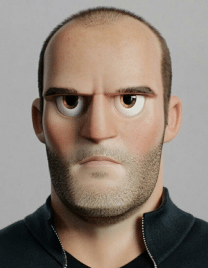 Chance, Cloudy, and Statham: Cloudy with a chance of Statham