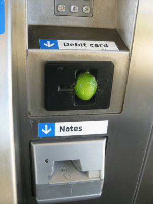 "nazmatik:  ""hold up let me put this fucking lime in that ATM real quick"" : CLR  OK  Debit card  Notes nazmatik:  ""hold up let me put this fucking lime in that ATM real quick"""