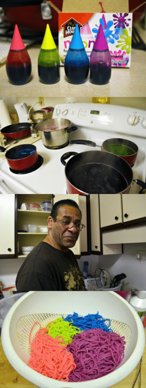 "sweaterwhore:         some of you may be aware of the facebook guide explaining how to make rainbow spaghetti. welp, i'm 100% sure that no one has a better dad in the entire world than i do  ??? i want blue spaghetti""  what an awesome dad tho  SCREAMS  so when your dad come home and make hte spaghetti  : CLU  HOU  on  fo  PREP  ments  vials/fioles  PR  al sweaterwhore:         some of you may be aware of the facebook guide explaining how to make rainbow spaghetti. welp, i'm 100% sure that no one has a better dad in the entire world than i do  ??? i want blue spaghetti""  what an awesome dad tho  SCREAMS  so when your dad come home and make hte spaghetti"
