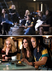friendly reminder that we're gonna be witnessing all these legendary ladies together in Oceans 8 releasing in june 2018 https://t.co/wNEoGaONLo: clusive  FIRST  LOOK  Entertainment friendly reminder that we're gonna be witnessing all these legendary ladies together in Oceans 8 releasing in june 2018 https://t.co/wNEoGaONLo