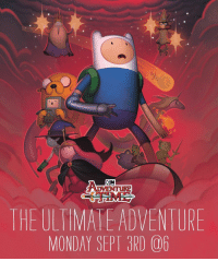 Memes, Watch, and Monday: CN  DVENTURE  THE ULTIMATE ADVENTURE  MONDAY SEPT 3RD 06 Are you ready? Watch the AdventureTime All-Day Marathon and TheUltimateAdventure episode on Sept 3rd!