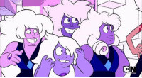 Memes, Amethyst, and 🤖: CN Okay but I love how this shows how different Gems of the same type can have such varying features- some have irises, smaller pupils- one amethyst even has ringlets I love it sm