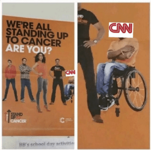 Cancer, Who, and Bbs: CN  WERE ALL  STANDING UP  TO CANCER  ARE YOU?  BB's schooi day activitie NI🅱️🅱️A WHO