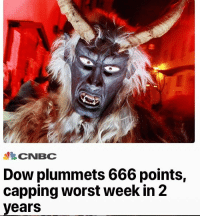 DeMarcus Cousins, Dow, and Cnbc: CNBC  Dow plummets 666 points,  capping worst week in 2  years