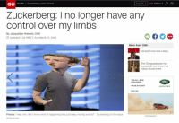 """Trump: CNN Health Zuckerberg Loses Control  Live TV 