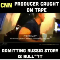 America, cnn.com, and Facebook: CNN PRODUCER CAUGHT  ON TAPE  PV JOURNALIST  But honestly, you think the whole Russia shit is just hallshit?  eridas  VISIT PROJECTVERITAS.COMIDONATE  ADMITTING RUSSIA STORY  IS BULL**IT HAHA CNN REALLY IS FAKE NEWS! Not surprised. Guess what? No one will get prosecuted for putting fake stories out there, it's just an effort to get the American people to hate Trump and it DOES NOT WORK. Keep ruining yourself, CNN. We're all laughing. cnn cnnfakenews fakenews fake trumpmemes liberals libbys democraps liberallogic liberal maga conservative constitution presidenttrump resist thetypicalliberal typicalliberal merica america stupiddemocrats donaldtrump trump2016 patriot trump yeeyee presidentdonaldtrump draintheswamp makeamericagreatagain trumptrain triggered CHECK OUT MY WEBSITE AND STORE!🌐 thetypicalliberal.net-store 🥇Join our closed group on Facebook. For top fans only: Right Wing Savages🥇 Add me on Snapchat and get to know me. Don't be a stranger: thetypicallibby Partners: @theunapologeticpatriot 🇺🇸 @too_savage_for_democrats 🐍 @thelastgreatstand 🇺🇸 @always.right 🐘 @keepamerica.usa ☠️ @republicangirlapparel 🎀 @drunkenrepublican 🍺 TURN ON POST NOTIFICATIONS! Make sure to check out our joint Facebook - Right Wing Savages Joint Instagram - @rightwingsavages