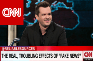 "Leading Australia in fake news Jim Jeffries: CNN  @RELIABLESOURCES  THE REAL, TROUBLING EFFECTS OF ""FAKE NEWS""  CN  11.09 AM ET Leading Australia in fake news Jim Jeffries"