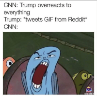 """<p>Should I invest? via /r/MemeEconomy <a href=""""http://ift.tt/2xAzFk3"""">http://ift.tt/2xAzFk3</a></p>: CNN: Trump overreacts to  everything  Trump: *tweets GIF from Reddit*  CNN:  MeMe+ <p>Should I invest? via /r/MemeEconomy <a href=""""http://ift.tt/2xAzFk3"""">http://ift.tt/2xAzFk3</a></p>"""