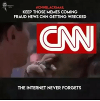 Oh my this is fun! I give them til the end of the year! Bye bye @cnn @Regrann from @vivacious_veteran - - regrann:  #CNNBLACKMAIL  KEEP THOSE MEMES COMING  FRAUD NEWS CNN GETTING WRECKED  CN  THE INTERNET NEVER FORGETS Oh my this is fun! I give them til the end of the year! Bye bye @cnn @Regrann from @vivacious_veteran - - regrann