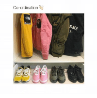 Memes, Shoes, and Boots: Co-ordination would do this but I own exactly 3 pairs of shoes; one pair of boots, one of tennis shoes, and one of flip flops