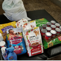 Wow!!!!! A huge donation today! Hooray for Carol Crabtree thank you so much. Our animals really appreciate this!! 🐶🐶: Co  RURINA  PPY CHO  DER &CRUNC  GR  TR  Beneful  originals  1  USA  SZE  20lb  OG CHOW  WITH REAL BEEF  THE #1 INGREDIENT Wow!!!!! A huge donation today! Hooray for Carol Crabtree thank you so much. Our animals really appreciate this!! 🐶🐶