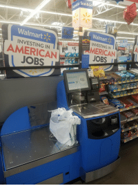 "Ash, Tumblr, and Walmart: co Scan& Go  Walmart  Walmart  INVESTING IN  Walmart 2W RLD  INVESTING IN  LOW PRICE LEADER  AMERICAN  JOBS  MERICAN  JOBS  Alcohol Consumer  34  ash Back  Classic  Start Scanning  Walmart <p><a href=""http://memehumor.net/post/175813233363/investing"" class=""tumblr_blog"">memehumor</a>:</p>  <blockquote><p>Investing….</p></blockquote>"