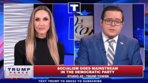 Socialism is a radical and failing ideology. But the Democrat party is totally embracing it!: CO  TRUMP  PEN CE  SOCIALISM GOES MAINSTREAM  IN THE DEMOCRATIC PARTY  STUDIO 45 TRUMP TOWER  TEXT TRUMP TO 88022 TO SUBSCRIBE Socialism is a radical and failing ideology. But the Democrat party is totally embracing it!