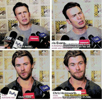 Chris Evans, Girls, and Roger: CO  VENK  Suf.  THOR.  AVENGERS: AGE  don't know  Chris Evans  ris Eva  iVE ROGERS C  troublemaker on the se  Chris Hemswo  THOR.  e didn't? It's Gos it's him.  AVENGERS Evans, you little shit ~ Cap's Best Girl