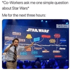 Too much…knowledge: *Co-Workers ask me one simple question  about Star Wars*  Me for the next three hours:  STAD  KALAPA  STAR WARS  EPISODE I1  50  HARE  RETURNGEDN  WHRES  EPISODE  SETOW  EXPIRE  SODE  WARS  CTOOULKOND  JOAMAY Too much…knowledge