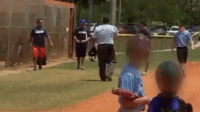 Abc, Baseball, and Mlb: Coaches Brawl at Youth Baseball Game. C'mon guys. from: ABC News