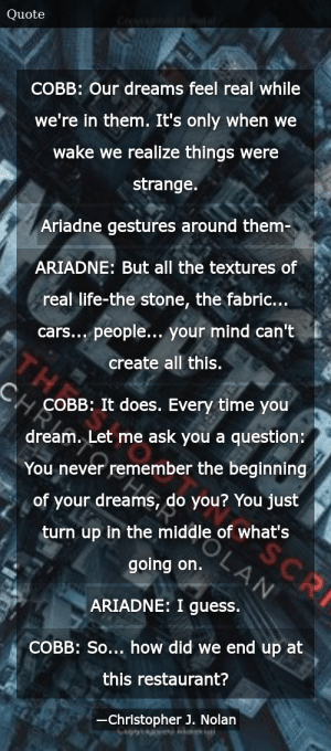 Inception Quotes 5