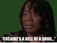 """cocaine is a hell of a drug: """"COCAINE'S A HELL OF A DRUG...""""  9p"""