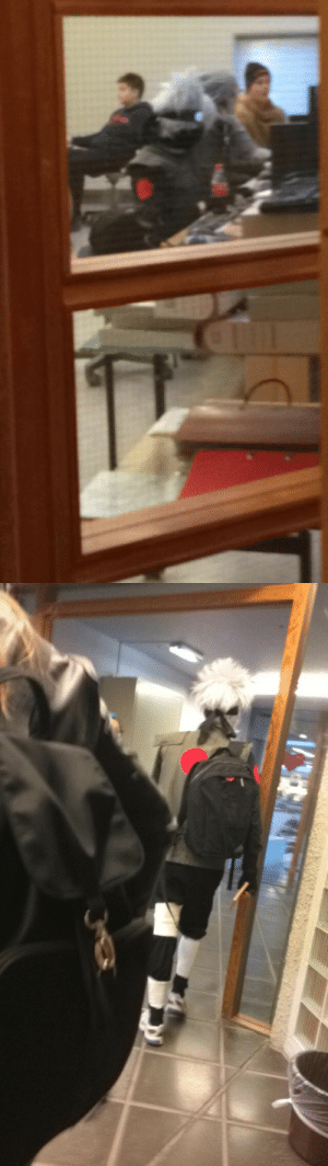 Saw, Target, and Tumblr: cockyhorror:  uusui: i saw kakashi in accounting class  oh