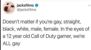COD gamers are the best: COD gamers are the best