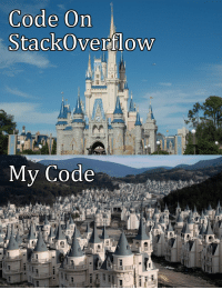 Code, Stackoverflow, and  Ctrl: Code On  StackOverflow  My Code Ctrl-C Ctrl-V