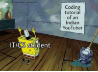 Indian, Youtuber, and Student: Coding  tutorial  of an  Indian  YouTuber  ITICS student ..ooo