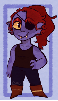 Target, Tumblr, and Blog: COFFE onesmall-coffee:  Undyne the badass