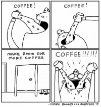 MORE COFFEE(By @natemorebikes): COFFEE!  COFFE E  mAKE Room FORCOFFEE !!!!  moRE COF FEE  ATHAN  8n니nER FOR BUZZ FEED .17  - MORE COFFEE(By @natemorebikes)