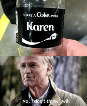 awesomesthesia:  She would just call the manager on me: Coke.wiTH  SHARE A  Karen  HH  No,don't thinkiwill awesomesthesia:  She would just call the manager on me