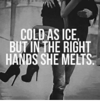 Who's melting? 💯 @timkarsliyev: COLD AS ICE.  BUT INTHE RIGHT  HANDS SHE MELTS. Who's melting? 💯 @timkarsliyev
