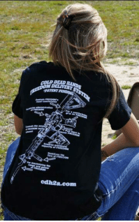 It's pretty simple. AR15s = FREEDOM. That's why liberals want to ban them.   — Products shown: Cold Dead Hands Freedom Delivery System T-Shirt.: COLD-DEAD RAND  ERVERE'S  els FREEDOMS  gripes FREE  ameroost bei  Mr Raaintzing the  cdh2a.com It's pretty simple. AR15s = FREEDOM. That's why liberals want to ban them.   — Products shown: Cold Dead Hands Freedom Delivery System T-Shirt.