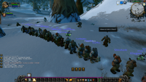 Soviet Citizens Queue for a Bread Rationing Line (1985, Colorized): Coldridge Valley  Momhunter  25 m 23 m  Happicates  355  Bme  RS in  Me Tallogarp  Where is Felix's Chest?  Cunfiauarter  Happicakes  Stufflez  Nol  <Polle's  Shivshank  Khagren  Khagren says: Yuh know. Just waiting for a bucket  Klungo] says: thank you for keeping the order everyone  Megafalow says to0 close.  Kokoa] says im not trying to cut  1. General- Dun Morog Beneolial: my power grows by the minute  Kokoaj says: im sorry!  Megaralow says im little i need space  Gulgni) says: Where is Felix's Chest? Soviet Citizens Queue for a Bread Rationing Line (1985, Colorized)
