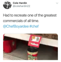 Oscar worthy @larnite • ➫➫➫ Follow @Staggering for more funny posts daily! • (Ignore: memes like4like funny music love comedy goals fortnite): Cole Hardin  @colehardin22  Had to recreate one of the greatest  commercials of all time  @ChefBoyardee Oscar worthy @larnite • ➫➫➫ Follow @Staggering for more funny posts daily! • (Ignore: memes like4like funny music love comedy goals fortnite)