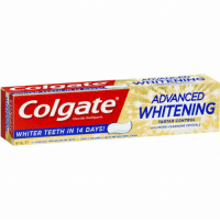Control, Germany, and Goal: Colgate  ADVANCED  WHITENING  Fluoride Toothpaste  WHITER TEETH IN 14 DAYS!  TARTAR CONTROL  WITH MICRO-CLEANSING CRYSTALS  Y PROVEN WHITER TEETH  GENTLY POLISHES ε HELPS PREVENT NEW STAINS Adolf Hitler announces his goal for Germany after taking power (1933)
