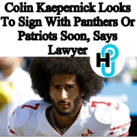"San Francisco 49ers, Carolina Panthers, and cnn.com: Colin Kaepernick Looks  To Sign With Panthers Or  Patriots Soon, Says  Lawyer  16 HU Staff: Ariela Anis @ari.anis Subsequent to his 2016 on-field protests, Colin Kaepernick parted ways with the San Francisco 49ers and has since been ousted by the franchise. But, this may soon change, as his lawyer tells CNN he'll soon sign a new NFL contract. ___________________________________________________ While he recently reached a financial settlement with the franchise over his collusion lawsuit, Kaepernick's lawyer predicts his client will soon sign either with the recent Super Bowl champs, the New England Patriots, or the North Carolina Panthers. ___________________________________________________ So, his attorney, Mark Geragos says, ""I think you're going to see within the next two weeks that somebody's going to step up. Somebody's going to do the right thing. Want me to predict who? The Panthers. It would not surprise me if Bob Kraft makes a move. And it would not surprise me if his former coach [David Tepper] makes a move."" ___________________________________________________ Read more at thehollywoodunlocked.com, link in bio. 📸: AP"