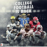 COLLEGE  FOOTBALL  IS BACK  N STATE.  BAYLOR  bleacher  report Welcome back, College Football!