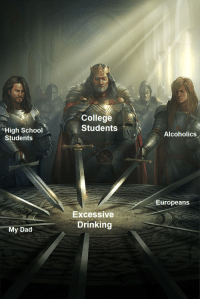 Excessive Drinking: College  Students  High School  Alcoholics  Students  Europeans  ExcessiVe  Drinking  My Dad