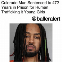 "Drake, Drugs, and Girls: Colorado Man Sentenced to 472  Years in Prison for Human  Trafficking it Young Girls  @balleralert Colorado Man Sentenced to 472 Years in Prison for Human Trafficking of Young Girls-blogged by @thereal__bee ⠀⠀⠀⠀⠀⠀⠀⠀⠀ ⠀⠀ A convicted child sex trafficker will spend life in prison after receiving the longest sentence for a human trafficking case in United States history. ⠀⠀⠀⠀⠀⠀⠀⠀⠀ ⠀⠀ 31-year-old Brock Franklin was sentenced to 472 years in prison for operating a prostitution ring that preyed on women, including younger girls. ⠀⠀⠀⠀⠀⠀⠀⠀⠀ ⠀⠀ Franklin was found guilty on 30 counts of human trafficking, sexual exploitation of a child, child prostitution, and kidnapping by an Arapahoe County jury. ⠀⠀⠀⠀⠀⠀⠀⠀⠀ ⠀⠀ Franklin was originally indicted by a grand jury in 2015. Prosecutors claimed that he used drugs and violence to force the young girls to partake in sexual behavior. He also forced the girls to have sex with him, while also selling their services on the internet. ⠀⠀⠀⠀⠀⠀⠀⠀⠀ ⠀⠀ ""A 400 year sentence sends a strong message across the country that we're not going to tolerate this kind of violence to women and vulnerable populations,"" said Janet Drake of the Colorado Attorney General's office. ⠀⠀⠀⠀⠀⠀⠀⠀⠀ ⠀⠀ The crimes took place in the Denver metro area in multiple hotels. ⠀⠀⠀⠀⠀⠀⠀⠀⠀ ⠀⠀ ""I can't begin to even explain what he did to my life,"" Brehannah Leary, one of Franklin's victims, said in court. ⠀⠀⠀⠀⠀⠀⠀⠀⠀ ⠀⠀ ""Reading it today, and speaking and actually saying how I felt, and him having hearing and have to sit there and listen and listen to me, that brought me so much joy and that's why I came today,"" she said. ⠀⠀⠀⠀⠀⠀⠀⠀⠀ ⠀⠀ Franklin's defense team originally requested that their client receive a minimum sentence of 96 years behind bars. However, the victims and prosecutors felt that punishment was not severe enough. ⠀⠀⠀⠀⠀⠀⠀⠀⠀ ⠀⠀ ""He deserves every single minute in those walls,"" Leary told FOX 31 News."