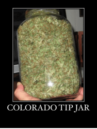 Wake and Bake: COLORADO TIP JAR Wake and Bake