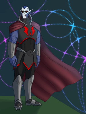 colors-of-fear:  My take on Horde Prime, based off the little info in season 3. This is just my speculation on what he may look like.[ID: a digital drawing of a tall buff alien character. He has dark blue skin except for the front of the face and top of the ears, which are white, making his face look skeletal. He has glowing red eyes and dark blue undercut hair, and a huge scar going across his eye and mouth. There are scars on his arms too. He's wearing black armor on his body, and gray metal armor on his forearms and legs, and a cape with a standing collar.]: colors-of-fear:  My take on Horde Prime, based off the little info in season 3. This is just my speculation on what he may look like.[ID: a digital drawing of a tall buff alien character. He has dark blue skin except for the front of the face and top of the ears, which are white, making his face look skeletal. He has glowing red eyes and dark blue undercut hair, and a huge scar going across his eye and mouth. There are scars on his arms too. He's wearing black armor on his body, and gray metal armor on his forearms and legs, and a cape with a standing collar.]