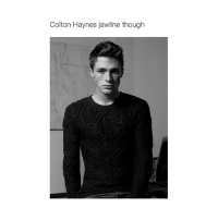 that's not very hispanic of you: Colton Haynes jawline though that's not very hispanic of you
