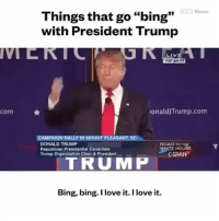 "Bing bing bing bong bing bong bingbong liberals libbys democraps liberallogic liberal ccw247 conservative constitution presidenttrump resist stupidliberals merica america stupiddemocrats donaldtrump trump2016 patriot trump yeeyee presidentdonaldtrump draintheswamp makeamericagreatagain trumptrain maga Add me on Snapchat and get to know me. Don't be a stranger: thetypicallibby Partners: @theunapologeticpatriot 🇺🇸 @too_savage_for_democrats 🐍 @thelastgreatstand 🇺🇸 @always.right 🐘 TURN ON POST NOTIFICATIONS! Make sure to check out our joint Facebook - Right Wing Savages Joint Instagram - @rightwingsavages Joint Twitter - @wethreesavages Follow my backup page: @the_typical_liberal_backup: com  News  Things that go ""bing""  with President Trump  ionaldJTrump.com  CAMPAIGN RALLY IN MOUNT PLEASANT, S  DONALD TRUMP  ROAD TO THE  WHITE HOUSE  Republican Presidential Candidate  CSPAN  Trump organization Chair & President  TRUMP  Bing, bing. love it. I love it. Bing bing bing bong bing bong bingbong liberals libbys democraps liberallogic liberal ccw247 conservative constitution presidenttrump resist stupidliberals merica america stupiddemocrats donaldtrump trump2016 patriot trump yeeyee presidentdonaldtrump draintheswamp makeamericagreatagain trumptrain maga Add me on Snapchat and get to know me. Don't be a stranger: thetypicallibby Partners: @theunapologeticpatriot 🇺🇸 @too_savage_for_democrats 🐍 @thelastgreatstand 🇺🇸 @always.right 🐘 TURN ON POST NOTIFICATIONS! Make sure to check out our joint Facebook - Right Wing Savages Joint Instagram - @rightwingsavages Joint Twitter - @wethreesavages Follow my backup page: @the_typical_liberal_backup"